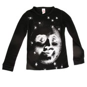 Man in the Moon – Black Thermal T, Lucky Fish