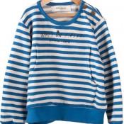 Striped Pocket Sweatshirt, Bobo Choses $89